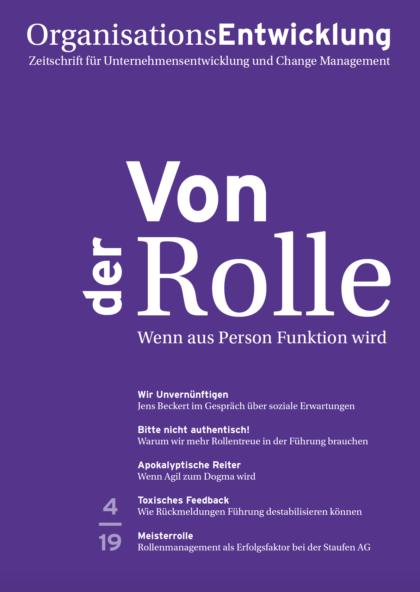 Der Rollenradar - Ein Reflexionstool für Change-Verantwortliche