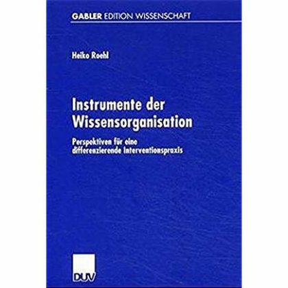 Instrumente der Wissensorganisation